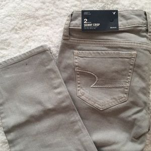 American Eagle Outfitters Skinny Crop Jeans